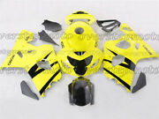 Injection Fairing Fit For Gsxr 600/750 K4 2004-2005 Black Yellow Abs Plastic Aae