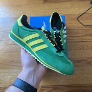 Adidas Sl 76 Size Green Jamaica Size 10 Trimm Star Montreal London City Series