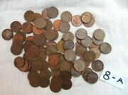 Lot 82 1946 Lincoln Copper Wheat Pennies From Estate Us Coins Unsearched