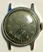 Neat Vintage Mens Elgin Us Military Army Ord Dept Watch