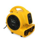 Zoom Blowers 1/5 Horsepower Zoom Centrifugal Floor Dryer Air Mover - Commerc...
