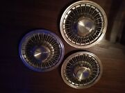 1969 Gm Caprice Impala Accessory Set Of 315 Inch Wire Hubcaps Chevelle