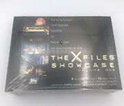 The Xfiles Showcase Topps Trading Cards Box Volume One Sealed 1997