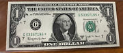 1963 1 Federal Reserve Note B Joesph Barr Star Note
