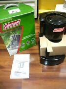 New In Box Coleman Black Camping Drip Coffee Maker 10 Cup Filter Basket 5008-700