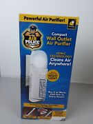 Air Police Compact Wall Outlet Air Purifier With Night Light - Nip