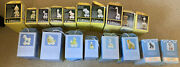 Precious Moments Birthday Train Complete Set Of 18 Ages 1-16 + Baby And Youth Euc