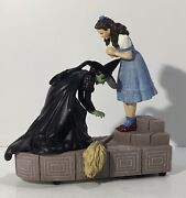 Rare 75 Anniversary Wizard Of Oz San Francisco Music Box Co Dorothy Wicked Witch
