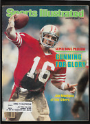 1982 1st Joe Montana  Rookie Cover Sports Illustrated S.f. 49'ers Orig And Compl