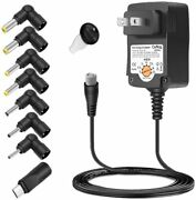 15w Ac Adapter Charger Power Supply Cord 3v-12v For Dynabox Speaker Enclosure