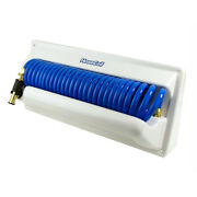 Hosecoil Hc25h2 Horizontal Mount Enclosure With 5 Foot Feeder
