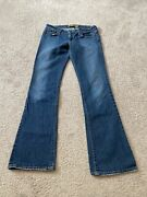Women's Old Navy Ultra Low Waist Stretch Boot Cut Jeans Size 6