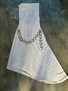 Britney Spears Autographed White Dress