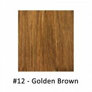 Gbb Clip-on Hair 18 Extensions 8 Pieces 12 Golden Brown.canada Fast Free Ship