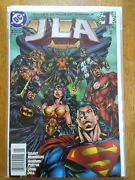 Jla 1 To 125 Complete Nm With 1 To 4 Annuals Wonder Woman Batman Dc 1997