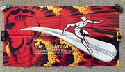 Joe Satriani Surfing With The Alien 1987 Promo Poster Silver Surfer Relativity