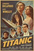Titanic Print By Alexey Kot Rare Sold Out Not Mondo Poster
