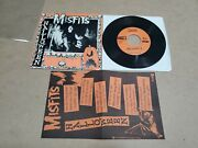 Original Misfits 7 45 Record Halloween 1981 Pl1017 With Insert + Signed By Only
