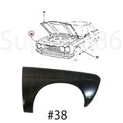 Front Fender Wo Side Marker Cut Right For 1968-1973 68-73 Datsun 510