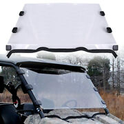 For 2010+ Polaris Ranger 800 Crew Full Size Scratch Resistant Vented Windshield