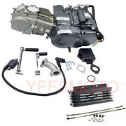 Lifan 150cc Manual Cluth Engine Motor And Oil Cooler For Crf50 Crf70 Dirt Pit Bike