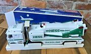 1999 Hess Toy Truck And Space Shuttle With Satellite In Box Makes Sounds