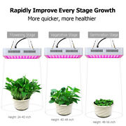 1200w Dual Chips 380-730nm Grow Light Led Plant Growth Flower Green House Lamp