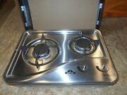 Capital 1204ss 2 Burner Drop-in Cooktop Stainless Steel Rv Free Ship 19