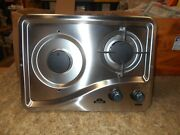 Capital 1204ss 2 Burner Drop-in Cooktop Stainless Steel Rv Free Ship 27