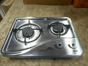 Capital 1204ss 2 Burner Drop-in Cooktop Stainless Steel Rv Free Ship 22