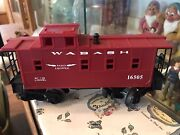 Lionel Train Wabash 16505 Red Caboose Train Car Vintage As-is Untested
