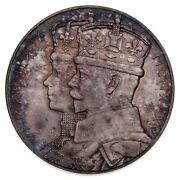 1935 Great Britain King George V Silver Jubilee Medal In Silver