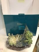 Walt Disney Enchanted Places Jungle Book King Louie's Temple 7 Tall Free Ship