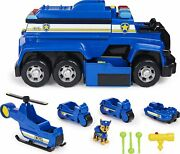 Paw Patrol Chaseandrsquos 5-in-1 Ultimate Cruiser With Lights And Sounds New 6058318