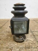 1913 - 1914 Ford Model T Black And Brass Corcoran Lamp Co Cowl Light