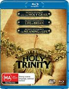 Monty Python's Trilogy Reg Free Blu-ray Holy Grail Life Of Brian Meaning Python