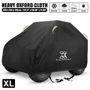 Universal Utv Cover Side-by-side Oxford Cloth All Weather 114 Xl 2-3 Passengers