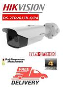 4mp Thermal Bullet Camera Measuring Body Temperature Hikvision Ds-2td2617b-6/pa