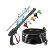 Selkie Pressure Washer Gun With Extension Wand And Hose Pressure Washer Gun W...
