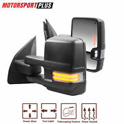 Power Heated Towing Mirrors Turn Signal For 2003-2016 Ford F250 F350 F450 F550