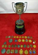 Trophy - Medals Of Sailing Championships Won By Boat Avant Ii. Spain. Circa 1925