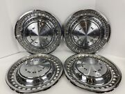Set Of 4 Vintage 14 In 1970s Dodge Challenger Dart Charger Wheel Covers Hubcaps