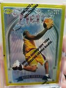 1996 Topps Finest 269 Kobe Bryant Heirs Gold Rookie Card High End Sharp Corners