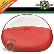 357518r92-17 New Seat Pan Steel Red And White For Case-ih And Farmall A, Av, B+