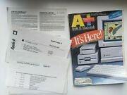 Old Vintage Apple Iic Computer Warranty Papers Proof Of Purchase + Magazine A+