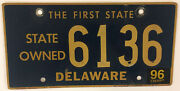 State Government Police License Plate Gvt Official Sheriff Trooper Officer De
