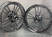 Indian Scout 2014 -2020 Rims Scout Sixty Chrome Wheels Front And Rear Outright