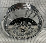 Indian Scout Sixty Rim 2015 -18 Chrome Front Wheel And Polish Rotor Exchange