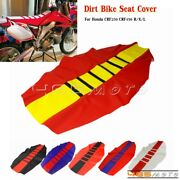 Mx Enduro Traction Ribbed Seat Cover For Honda Crf Cr Xr 125 250 450 230 R/x/l
