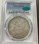 1899-o New Orleans Morgan Silver Dollar Pcgs Ms66 Cac